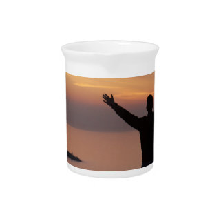 Sunset Cliff Pitcher