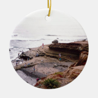 Sunset Cliffs San Diego Ceramic Ornament