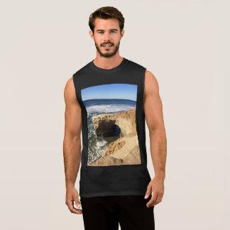 Sunset cliffs sleeveless shirt