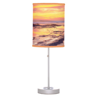 Sunset Cliffs tide pools Table Lamp