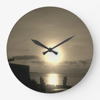 sunset clock