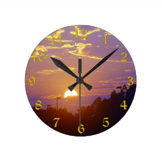 Sunset Clock(Medium) Wall Clocks