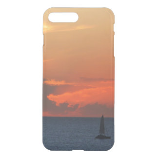 Sunset Clouds and Sailboat Seascape iPhone 8 Plus/7 Plus Case