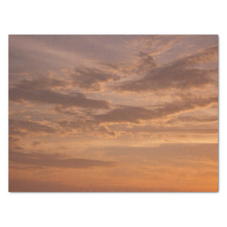 Sunset Clouds IV Pastel Abstract Nature Photograph Tissue Paper