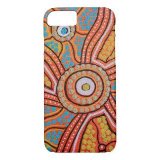 Sunset Corroboree iPhone 7 Case