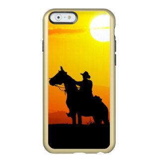 Sunset cowboy-Cowboy-sunshine-western-country Incipio Feather® Shine iPhone 6 Case