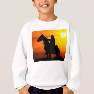 Sunset cowboy-Cowboy-sunshine-western-country Sweatshirt