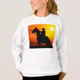 Sunset cowboy-Cowboy-sunshine-western-country Sweatshirt