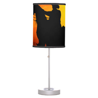 Sunset cowboy-Cowboy-sunshine-western-country Table Lamp