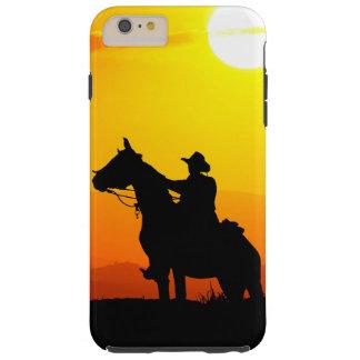 Sunset cowboy-Cowboy-sunshine-western-country Tough iPhone 6 Plus Case