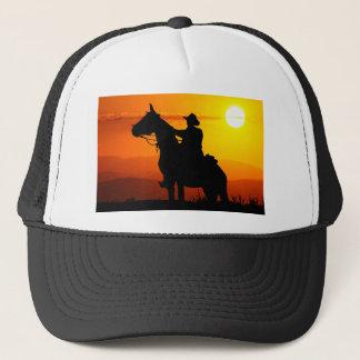 Sunset cowboy-Cowboy-sunshine-western-country Trucker Hat
