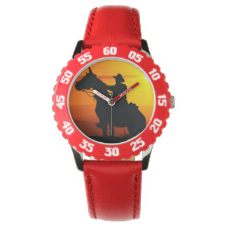 Sunset cowboy-Cowboy-sunshine-western-country Watch