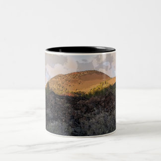 Sunset Crater Monogrammed Coffee Mug