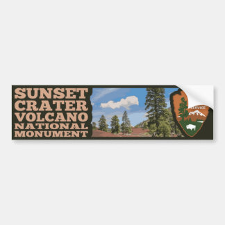 Sunset Crater Volcano National Monument Bumper Sticker
