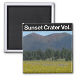 Sunset Crater Volcano National Monument Magnet