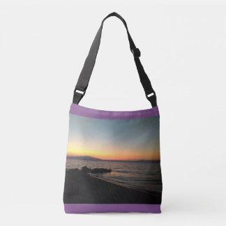 Sunset Custom All-Over-Print Cross Body Bag