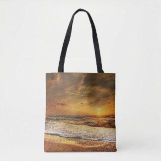 Sunset Custom All-Over-Print Tote Bag