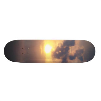sunset custom skate board