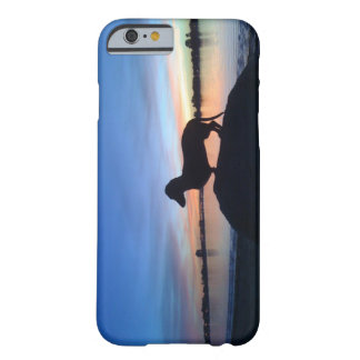 Sunset dachshund barely there iPhone 6 case
