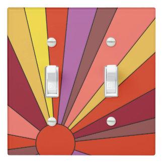 Sunset Design - Yellow&Orange - Light Switch