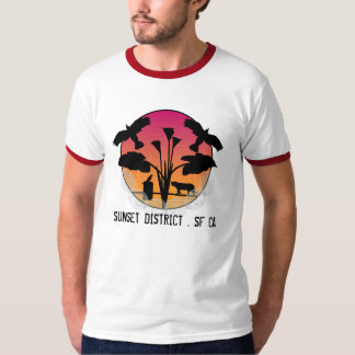 SUNSET DISTRICT . SF CA T-Shirt