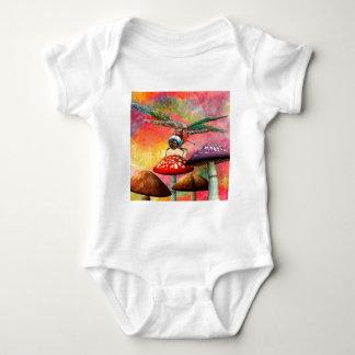 SUNSET DRAGON BABY BODYSUIT