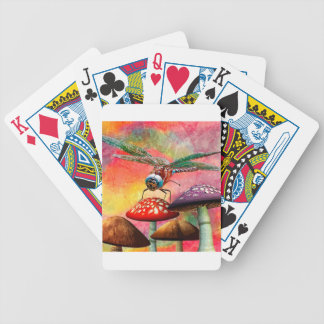 SUNSET DRAGON BICYCLE PLAYING CARDS
