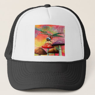 SUNSET DRAGON TRUCKER HAT