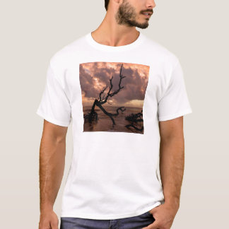 Sunset Driftwood Beach T-Shirt