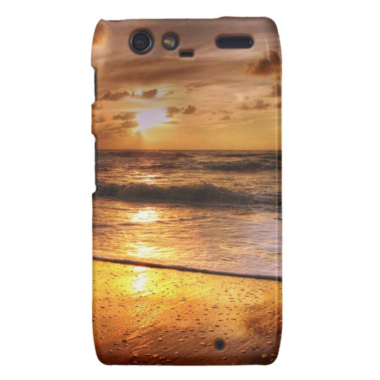 Sunset Droid RAZR Cover