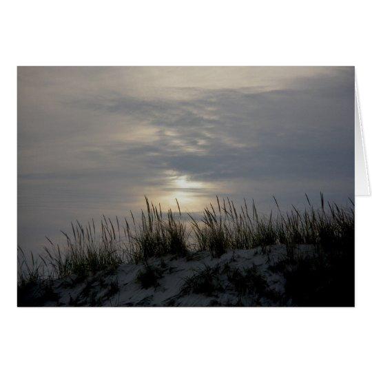 Sunset Dune Grass IBSP Note Card