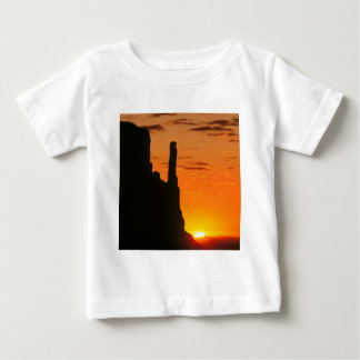 Sunset Evening Monument Navajo Baby T-Shirt