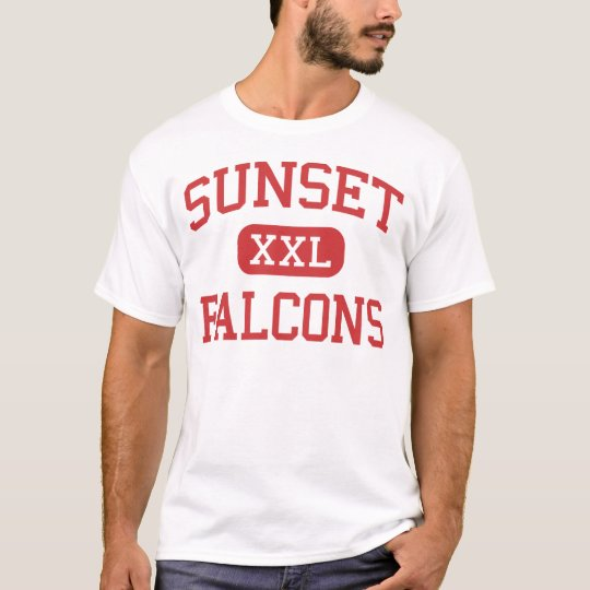 Sunset - Falcons - High - Hayward California T-Shirt
