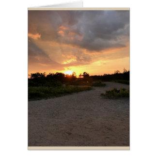 Sunset Feelings Card
