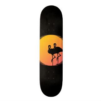 Sunset Flamingo Tranquility Skateboard Deck