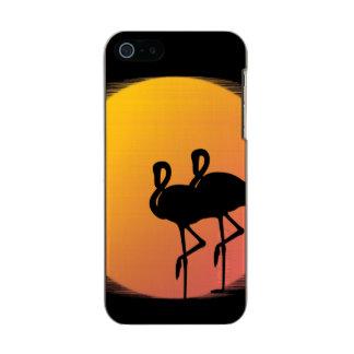 Sunset Flamingos Incipio Feather® Shine iPhone 5 Case