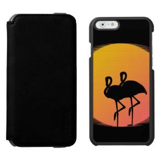 Sunset Flamingos Incipio Watson™ iPhone 6 Wallet Case