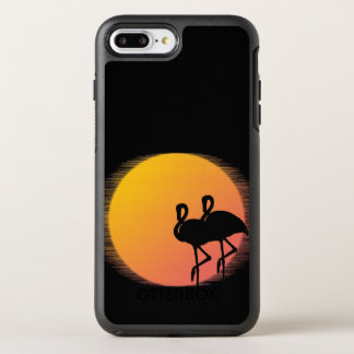 Sunset Flamingos OtterBox Symmetry iPhone 8 Plus/7 Plus Case