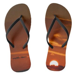 Sunset Flops Flip Flops