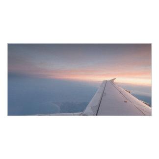 Sunset Flying Card