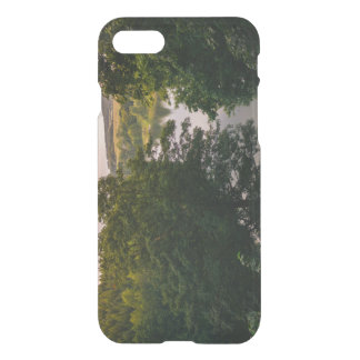 Sunset Forest Lake Landscape Photograph iPhone 7 Case
