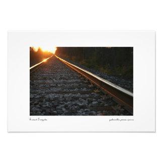 "Sunset Forgets || Satin Photo Print (19"" x 13"")"