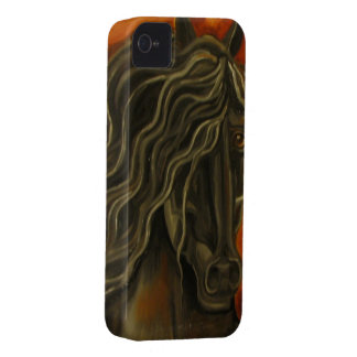 Sunset Friesian iPhone 4 Cases