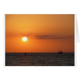 Sunset Gifts Greeting Card