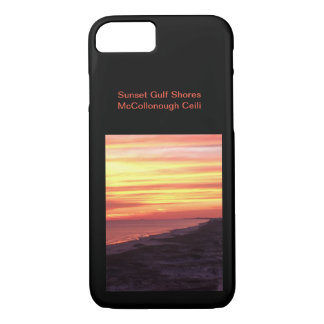 Sunset Gulf Shores iPhone 8/7 Case
