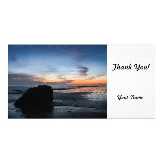 Sunset Handry's Beach Photo Cards