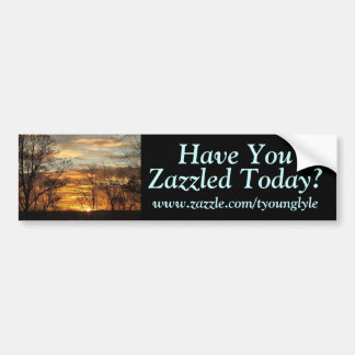 Sunset Have You, www.zazzle.com/tyounglyle, ... Bumper Stickers