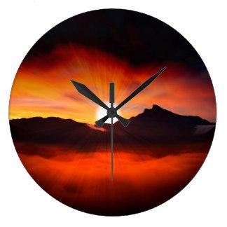 Sunset Holiday Style Clocks