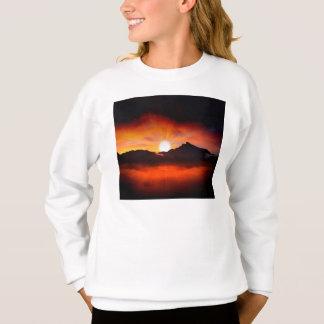Sunset Holiday Style Sweatshirt