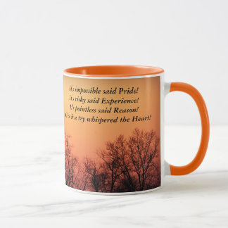 Sunset:  Impossible, Risky, Pointless, Try Mug